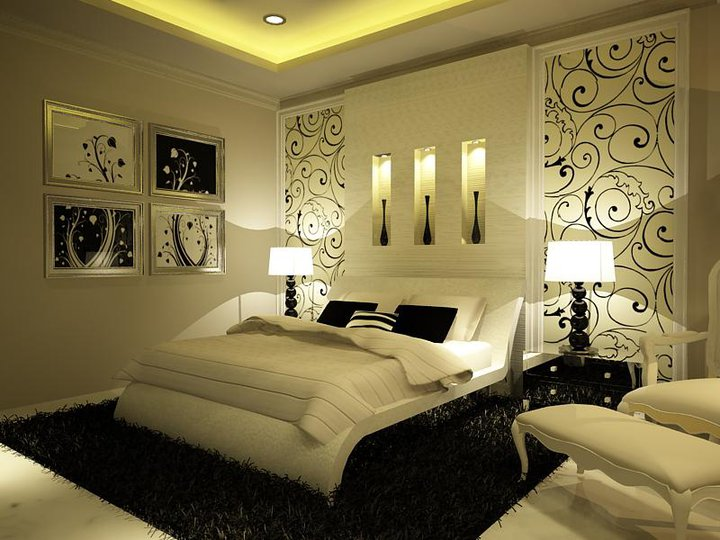 decoration tunisie tr s jolie chambre. Black Bedroom Furniture Sets. Home Design Ideas
